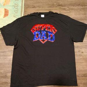 Super Dad T-Shirt. Brand new